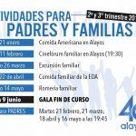 Actividades familiares para el segundo y tercer trimestres