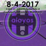 Partidos del 8-4-2017
