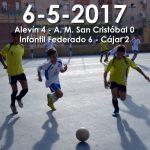 Partidos del 6-5-2017