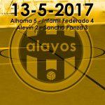 Partidos del 13-5-2017