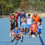 Fútbol-sala padres-hijos