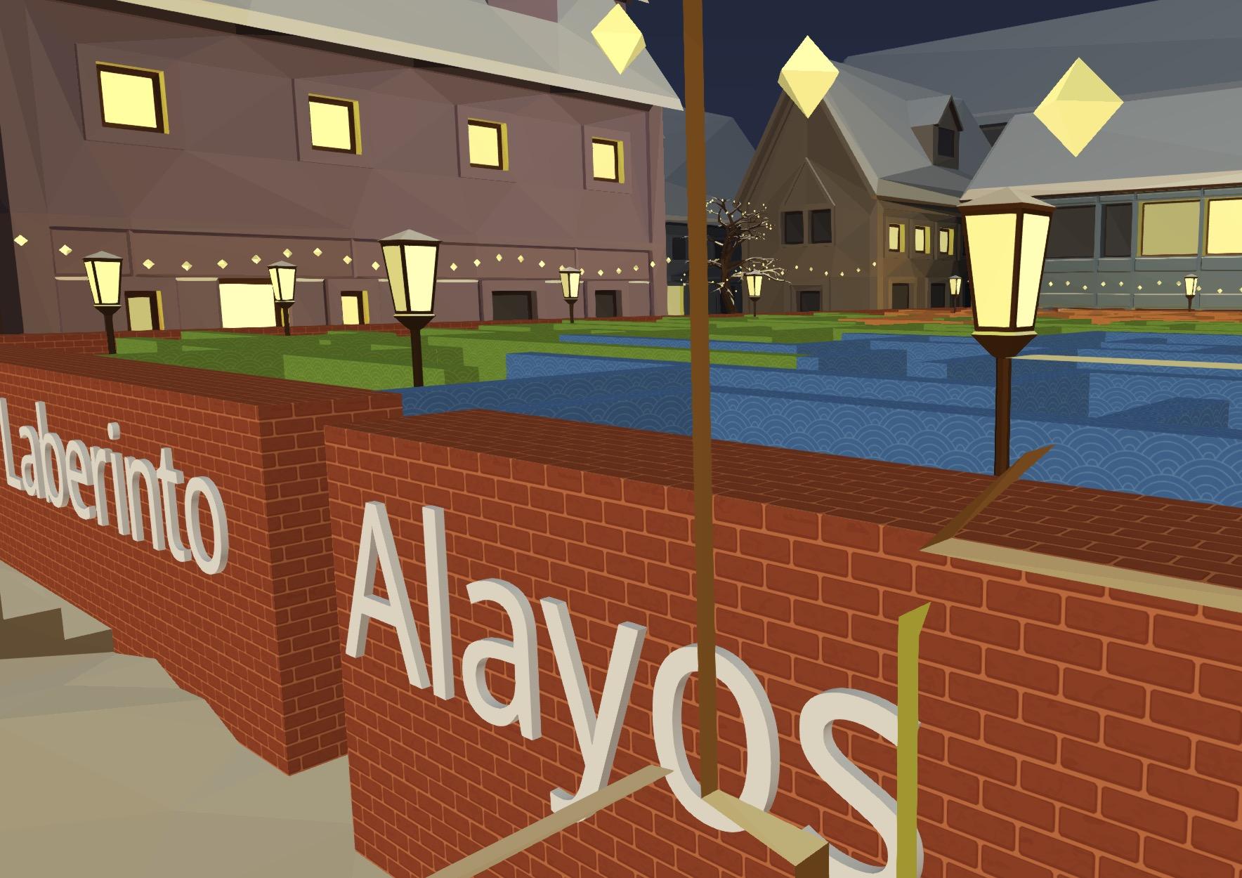Vista parcial del Scape Room Virtual de Alayos